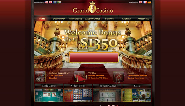 21 Grand casinospel