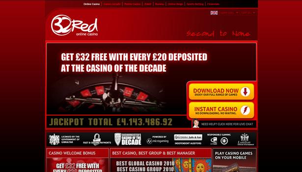 32 Red casinospel