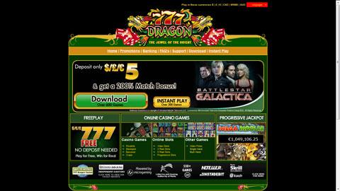 777 Dragon Casino casinospel