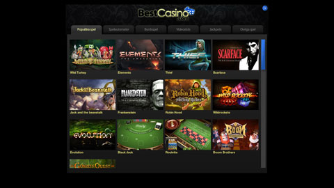 Best Casino casinospel