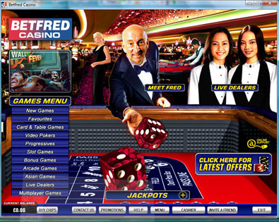 Betfred casinospel