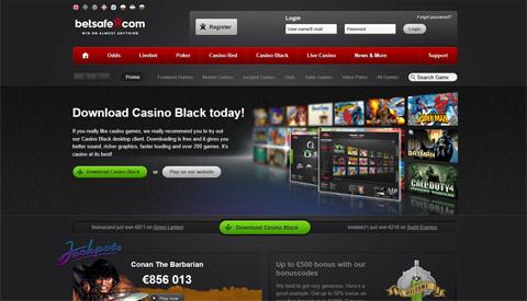 BetSafe casinospel