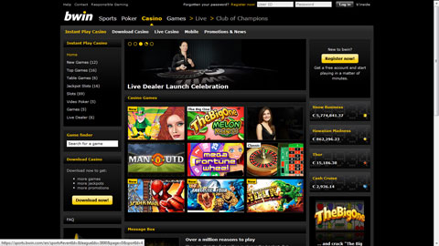 bwin casinospel