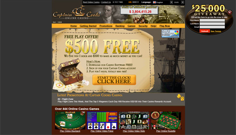 Captain Cooks Casino casinospel