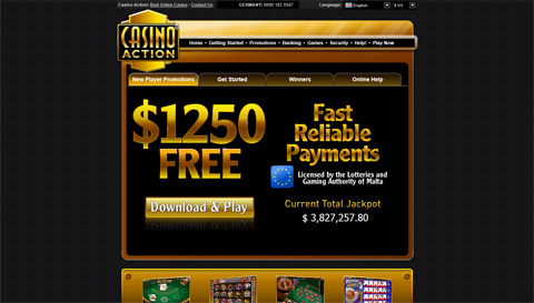 Casino Action casinospel