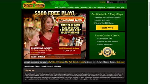 Casino Classic casinospel