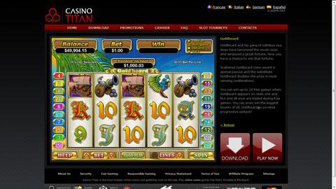 Casino Titan casinospel