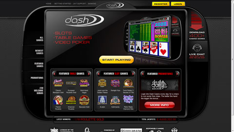 Dash Casino casinospel