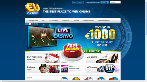 EU Casino casinospel