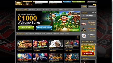 EuroGrand Casino casinospel
