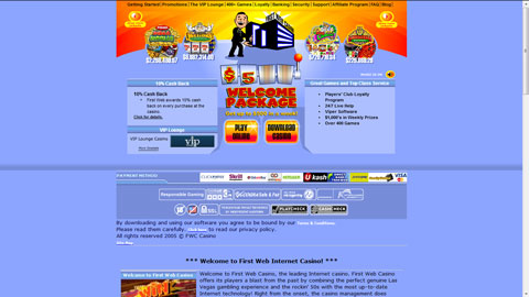 Firstweb casino casinospel