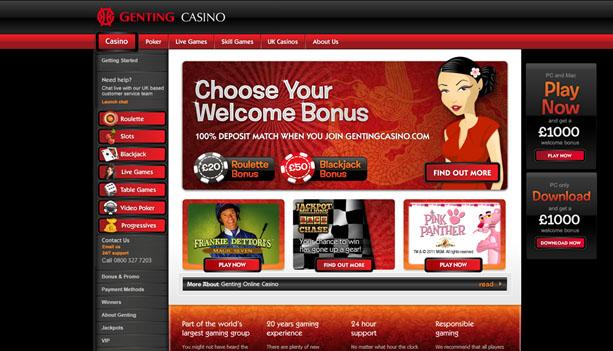 Genting Casino casinospel