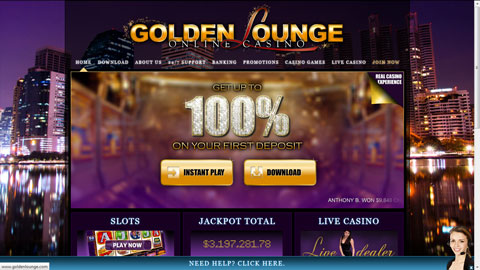 Golden Lounge Casino casinospel