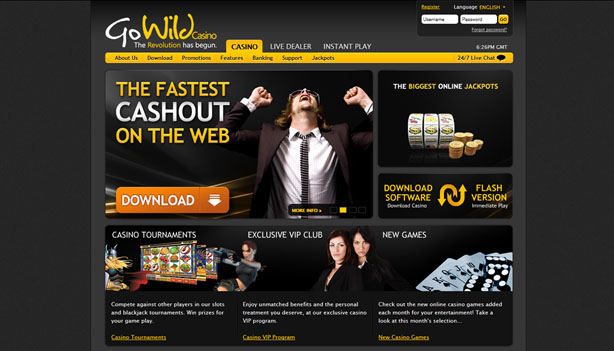 GoWild Casino casinospel
