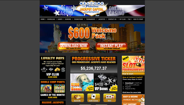 Jackpot Capital casinospel