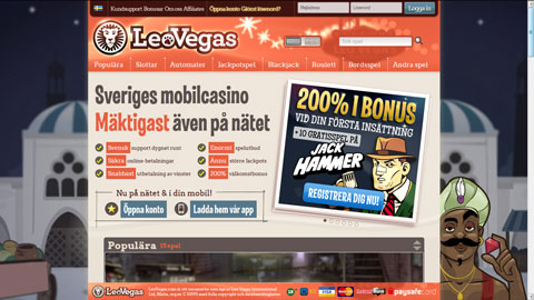 Leo Vegas casinospel