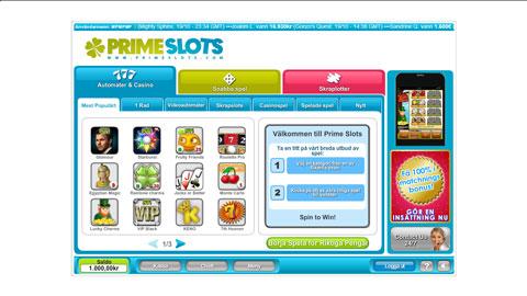 Prime Slots casinospel