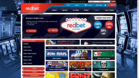 RedBet casinospel