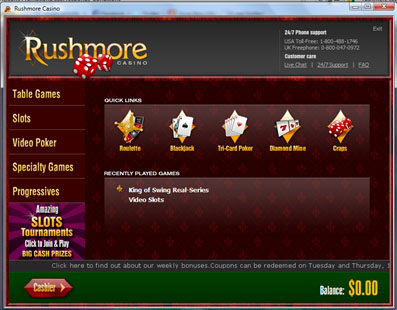 Rushmore Casino casinospel