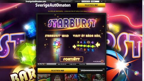 Sverige Automaten casinospel