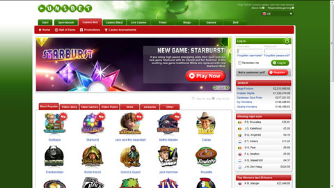 Unibet casinospel